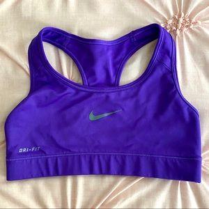 NWOT • Nike Dri-Fit Classic Swoosh Sports Bra